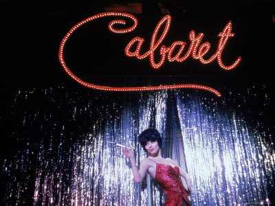 "Jill Haworth in ""Cabaret"" a Broadway"