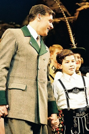 "Nick Jonas in ""The Sound of Music"""