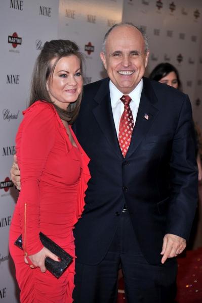 Judith Nathan e Rudy Giuliani