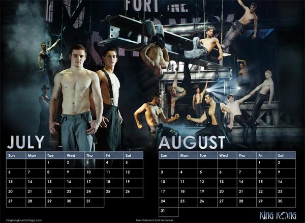 King Kong Calendar 2014