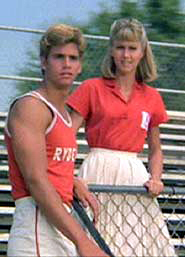 Lorenzo Lamas con Olivia Newton John in Grease