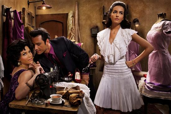 Una foto dal servizio di Vanity Fair