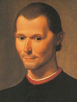 Ritratto di Niccolò Machiavelli, opera di Santi di Tito