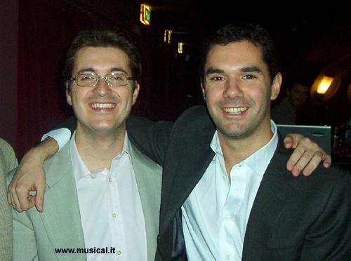Simone Manfredini e Federico Bellone