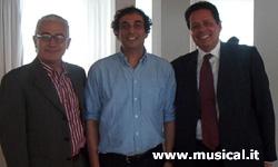 da sinistra: Saverio Marconi,  Marco Cabassi, Daniele Colla
