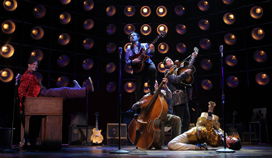 Una foto di scena dell'edizione di Broadway