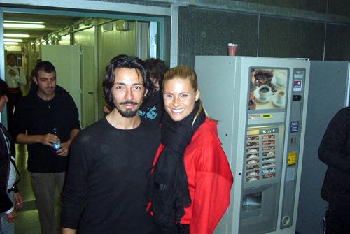 Simone Sibillano (Jesus) e Michelle Hunziker  (Foto www.davico.it)