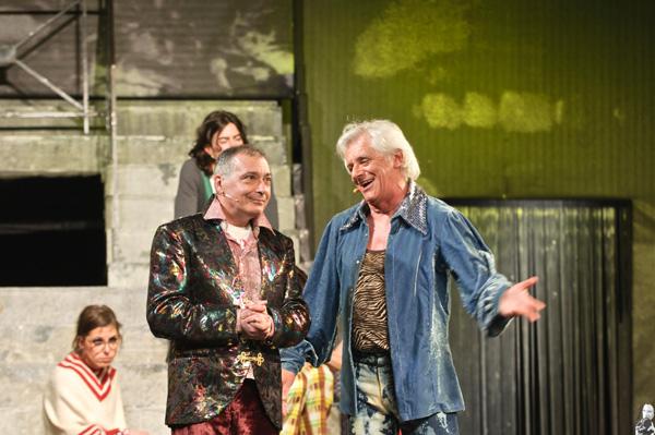 Renato Giordano e Franco Oppini in una foto di scena