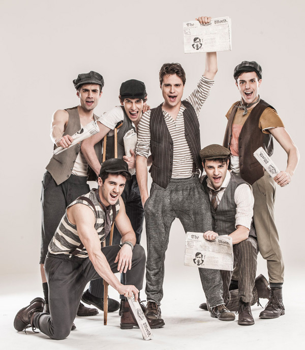 Newsies - una foto dal workshop 2014