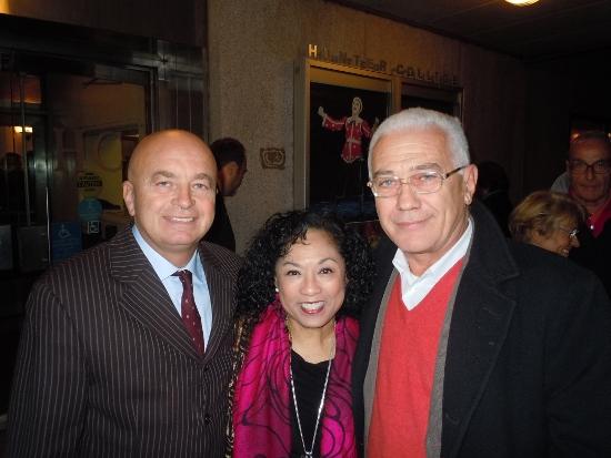 Michele Renzullo, Baayork Lee e Saverio Marconi