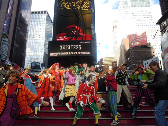 """Pinocchio"" a New York"