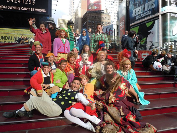 Pinocchio a New York