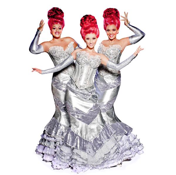 Le Divas nella versione a Madrid