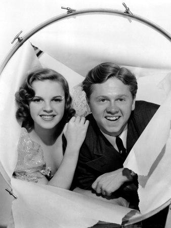 Judy Garland e Mickey Rooney