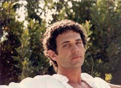 Saverio Marconi in un servizio fotografico del 1983