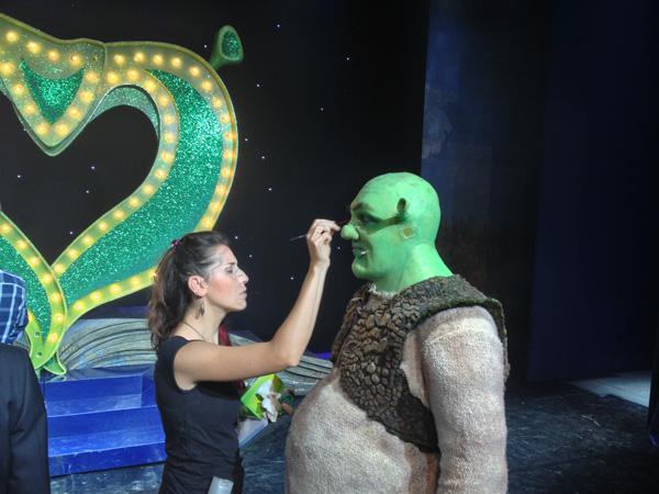 Ritocchi al trucco per Shrek