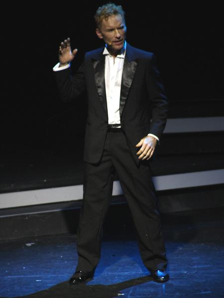 Michele Carfora in una foto di scena