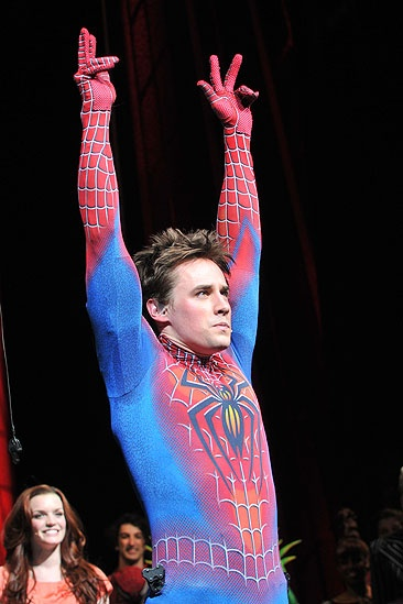 """Spider-ManTurn Off The Dark"" a Broadway"