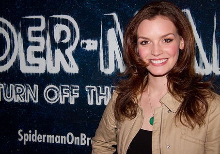 """Spider-ManTurn Off The Dark"" a Broadway - Jennifer Damiano"
