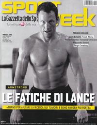 """La copertina di """"Sport Week"""" di oggi"""