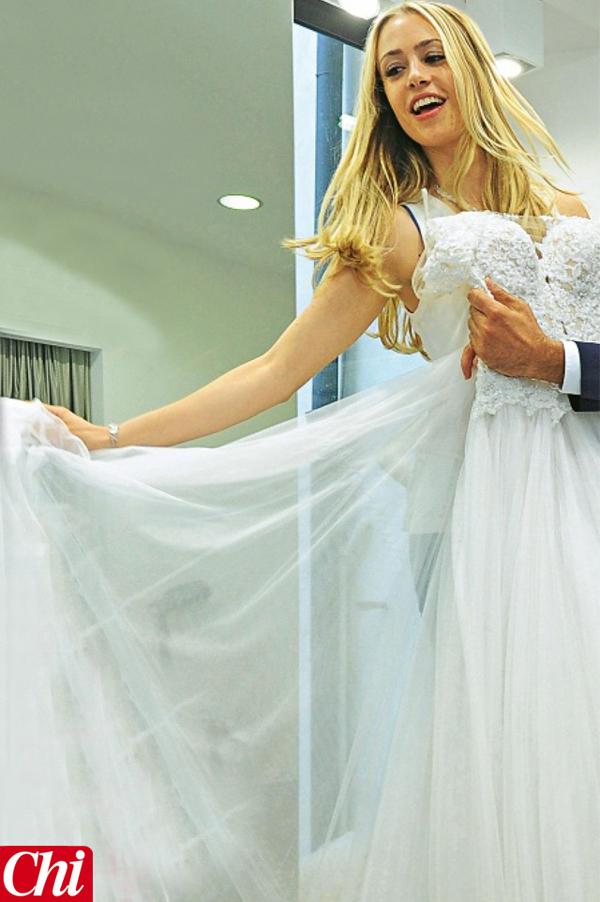 """In abito da sposa per """"Chi"""""""
