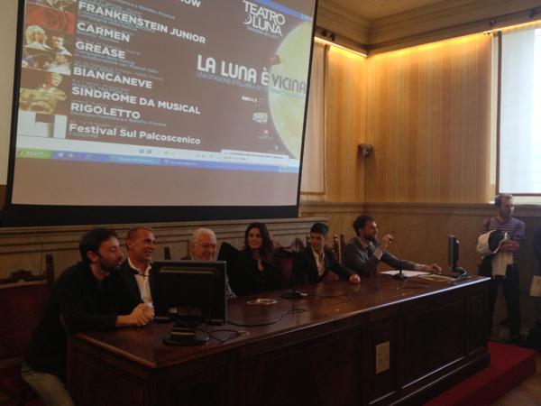 La conferenza stampa del Teatro della Luna a Palazzo Marino