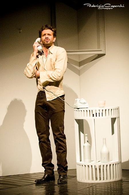 Luca Notari in una foto di scena