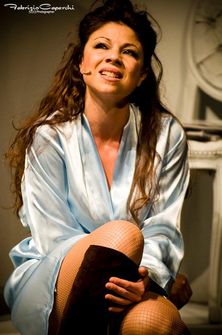 Stefania Fratepietro in una foto di scena