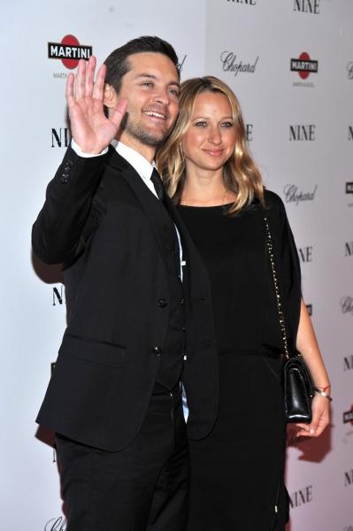 Tobey Maguire e la moglie Jennifer Meyer Maguire
