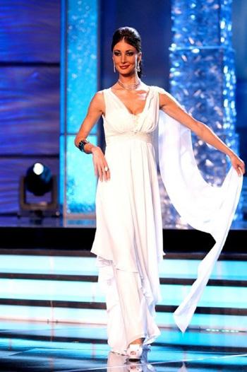 Laura Valenti a Miss Universo