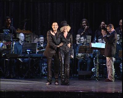 Cesare Vangeli e Rossana Casale
