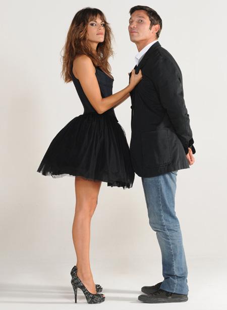 Bianca Guaccero e Francesco Venditti