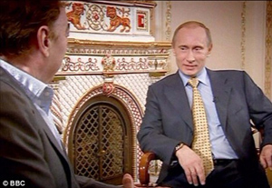 Abrew Lloyd Webber a colloquio con Vladimir Putin