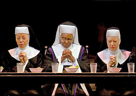 "Whoopi Goldberg in ""Sister Act"" a Londra"