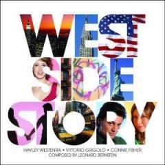 """La copertina del CD di """"Westr Side Story"""" interpretato da Vittorio Grigolo"""