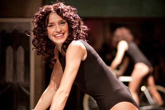 "Simona Samarelli è Alex in ""Flashdance"""