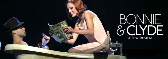 Bonnie & Clyde in musical a Broadway