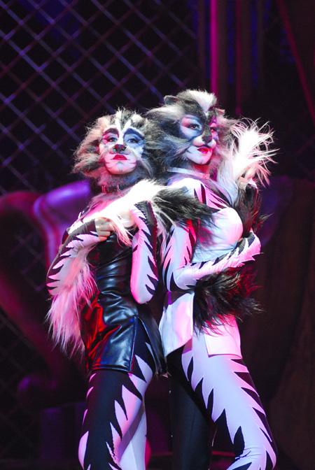 """Una scena dal musical """"Cats"""" in versione italiana (foto Alessandro Pinna)"""