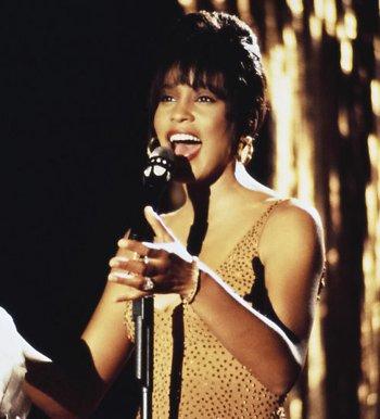 "Whitney Houston in ""The Bodyguard"""