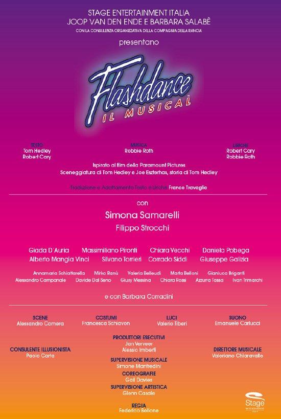 """Il cast di """"Flashdance il musical"""""""
