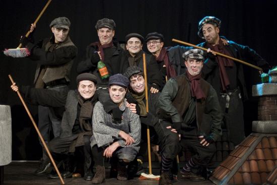 Alcuni degli interpreti del musical