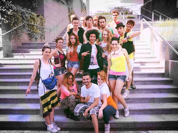 Il cast del video