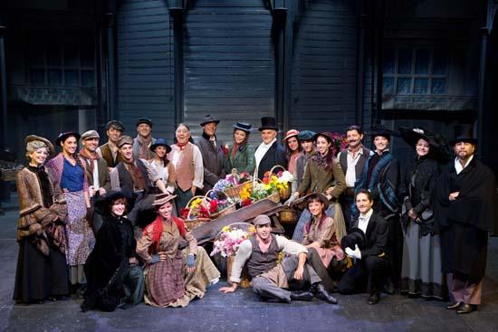 Il cast dello spettacolo