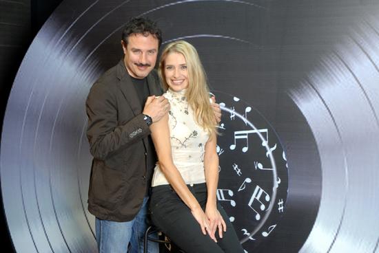 Giampiero Ingrassia e Simona Samarelli
