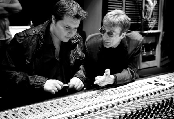 Robin Gibb e il figlio Robin-John